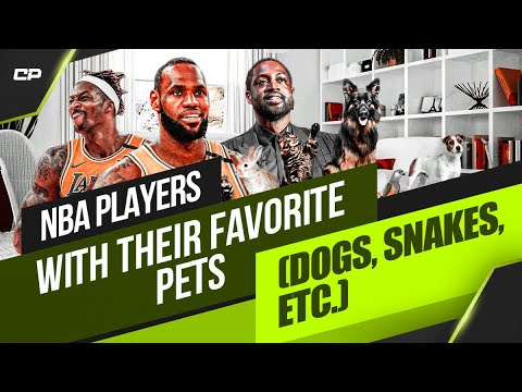 NBA Players With Their Favorite Pets (Dogs, Snakes, etc.)