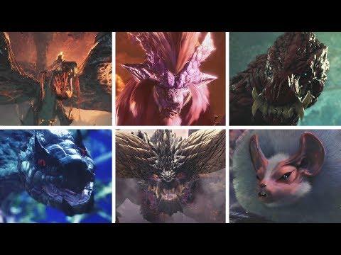 Monster Hunter World: All Monsters / All Bosses