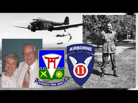 1LT Andrew Carrico, D Company, 511th Parachute Infantry Regiment, 11th Airborne Division - Int. #1