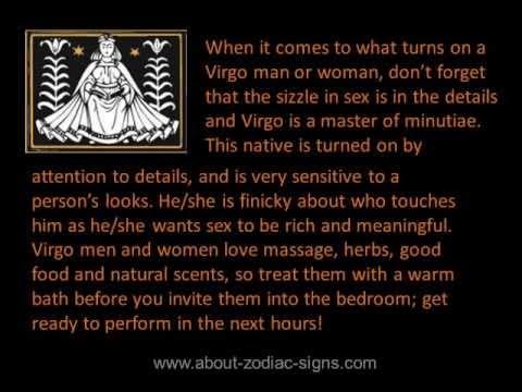 Virgo man turn offs