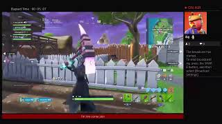Fortnite battle royal give away at 500 subs new mic
