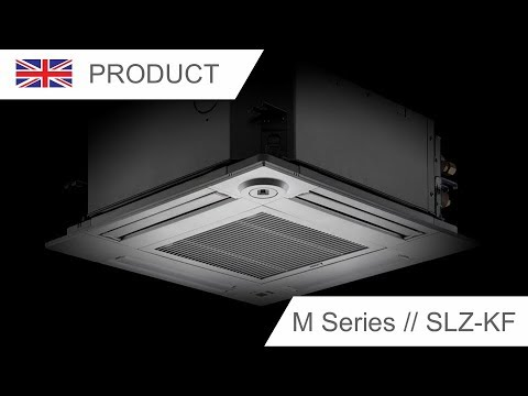 4-way ceiling cassette SLZ-KF Mitsubishi Electric