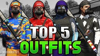 GTA 5 MODDED OUTFITS TOP Best Tryhard RnG Clothing Glitches