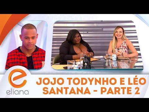 Jojo Todynho e Léo Santana - Parte 2 | Programa Eliana (22/04/18)
