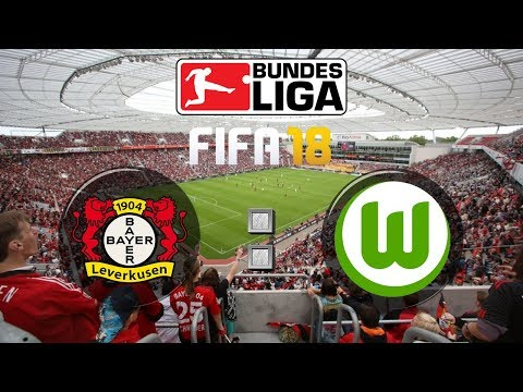 FIFA 18 Bundesliga Bayer 04 Leverkusen : VfL Wolfsburg | Gameplay Deutsch Livestream