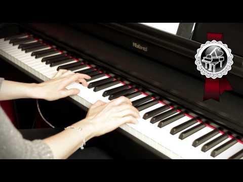"""MOZART - """"Twinkle, Twinkle, Little Star"""" Easy Piano Version"""