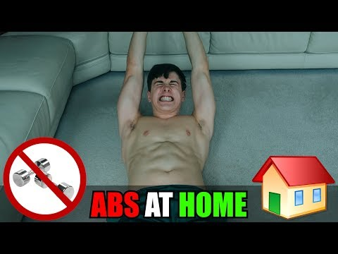 Get RIPPED Abs AT HOME 🏡 (25 EXERCISES!)