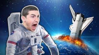 החללית שלי התרסקה על כוכב של חייזרים ?!