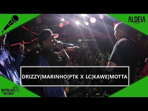 Drizzy, Marinho e PTK x LC, Kawe e Motta | BDA 2 ANOS | Batalha de Trio