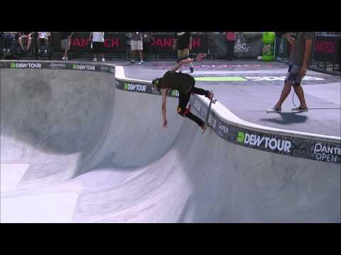 Nolan Munroe Superfinals Run 3 - Dew Tour Ocean City Skateboard Bowl Finals