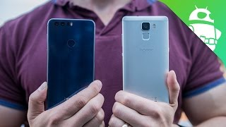 Honor 8 vs Honor 7 First Impressions