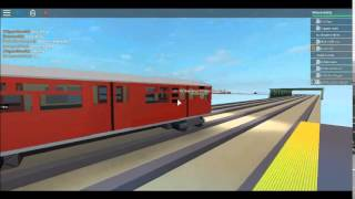 ROBLOX MTA Subway Movie: Chapter 19 [The Special Train Action]
