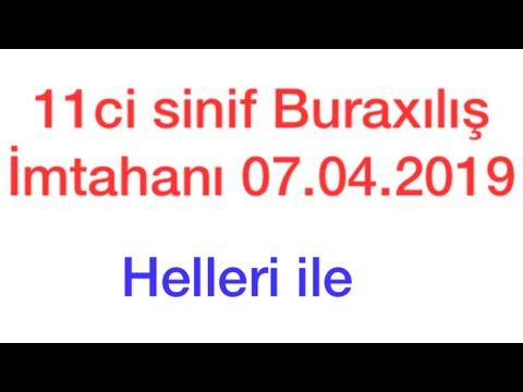11-ci sinif Buraxılış İmtahanı (10.06.2020) -  İngilis dili- testlərin və tapşırıqların həlli