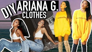 *NO-SEW* DIY ARIANA GRANDE INSTAGRAM CLOTHES! | CELEBRITY INSPIRED TUTORIALS | Nava Rose