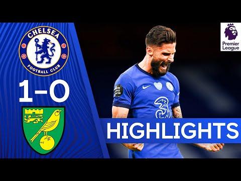 Chelsea 1-0 Norwich | Olivier Giroud Winner Boosts Top 4 Hopes | Premier League Highlights