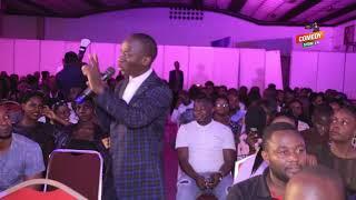 Alex Muhangi Comedy Store August 2019 - T_Amale Mirundi