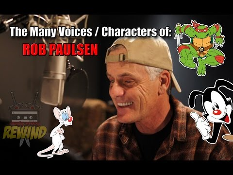 ROB PAULSEN: The Many Voices  Characters of Cartoon Voice Actor