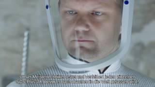 Bosch Hammerbohrer SDS plus-7X: längere Lebensdauer bei Bohrungen in armierten Beton