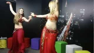 Kiania e Aziza Mor - TV UOL - Derbake.