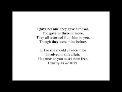 Alice Verses - They told me you had been to her 00