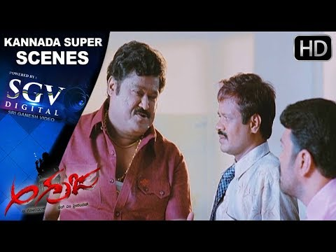 Sadhu Kokila and Jaggesh comedy scenes   Kannada Comedy Scenes   Agraja Movie    Jaggesh, Darshan
