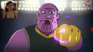 Darkseid Vs Thanos Cartoon Beatbox Battles Reactions