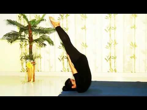how to do shoulder stand and unsupported shoulder stand