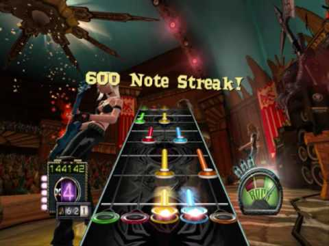 Guitar Hero 3 Custom - Sonata Arctica Wolf & Raven