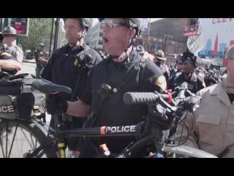 Bike Barricades: Using Cycles for Crowd Control | Election Cycle