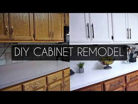 DIY: How to Paint Cabinets WITHOUT Sanding