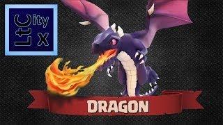 Clash of clans - 10 Dragon raid GAMEPLAY