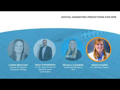 Digital Marketing Predictions for 2019