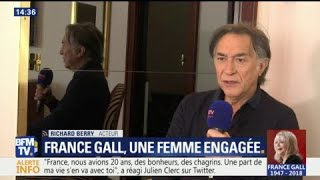 Mort de France Gall: Richard Berry salue