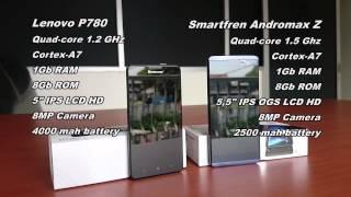 Smartfren Andromax Z vs Lenovo P780