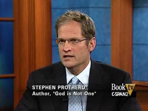 "Book TV: After Words, Stephen Prothero, ""God is Not One"" - YouTube"