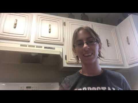 ASMR Cleaning Vlog!!!!🧽🧼🦠 Kitchen Cabinets!!! Part 1