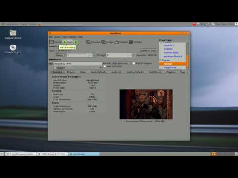 Cooking With Linux : Ripping a DVD with HandBrake