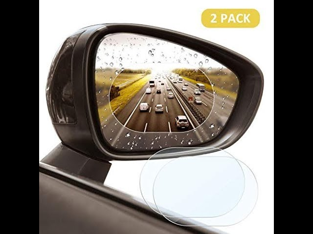 ghfcffdghrdshdfh Auto Rearview Mirror Film Anti-Water Anti-Fog Mirror Film for Car Rainproof