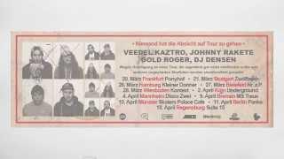 """""""Niemand hat die Absicht auf Tour zu gehen"""" (Veedel Kaztro, Johnny Rakete, Gold Roger & DJDensen)"""