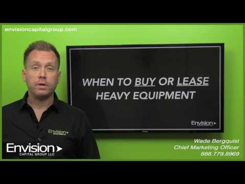 How to Purchase Heavy Equipment