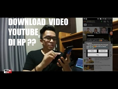 #6 - TUTORIAL DOWNLOAD VIDEO YOUTUBE DI HP UNTUK PEMULA  (INDONESIA)