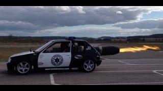 Repeat youtube video Invader jet car 2000 bhp - DarkDogMotorshow 2015 - GJRally