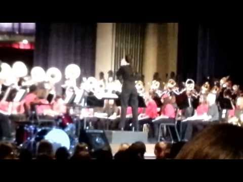 Katy Kiefer conducting