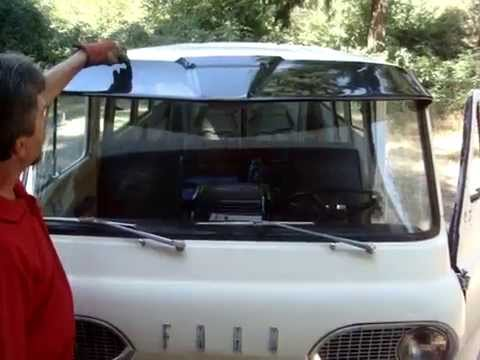 Early Econoline Visor Install - YouTube ef9b9375002