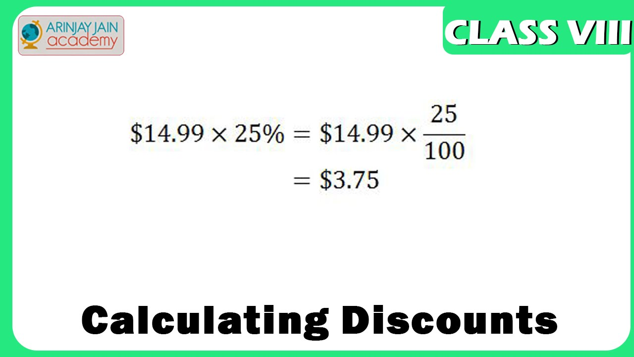 Worksheets Word Problems Of Compound Interest Viii calculating discounts profit and loss maths class 8viii iscecbse