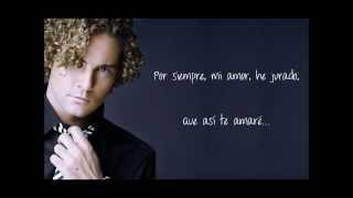 Para Enamorarte De Mí - David Bisbal (con letra)
