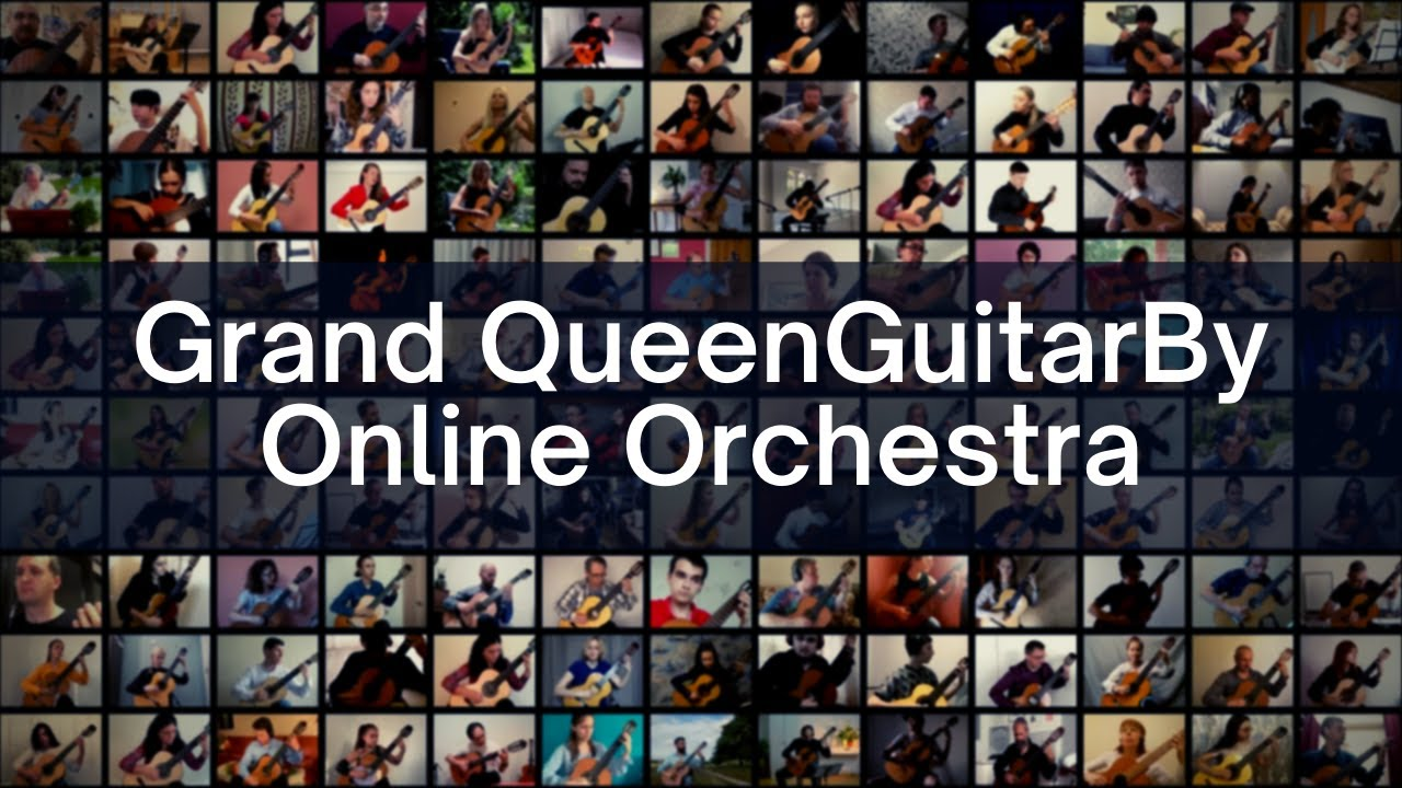 Sharing the virtual stage with so many amazing guitarist!