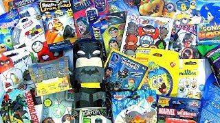 25 SURPRISE Toys Fortnite Loot Chest Batman Ninja Turttles Sponge Bob