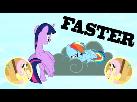Barbie Twilight BUT EVERY TWILIGHT, RAINBOW, DASH AND WIKI IT'S GOING 5% FASTER