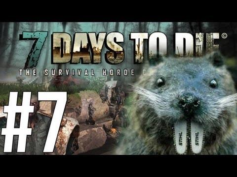7 Days to Die - เที่ยงวันทันเหตุการณ์เลาะบ้านเหมือนบีเวอร์! - Alpha - (7) Co-op w/Malternative